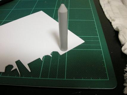 プラ板を丸く切り出す方法