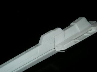 センサースライドギミックにより砲身換装可能に