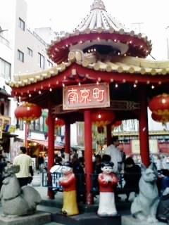 神戸元町の中華街『南京町』