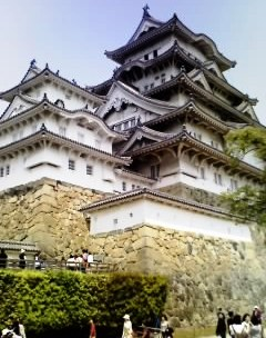 姫路城!(世界遺産ですヨ!!)