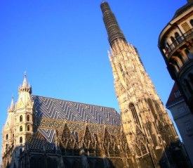 ウィーンの代名詞とも言える巨大なシンボル、シュテファン寺院