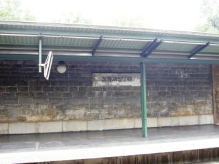 趣のあるシェーンブルン駅