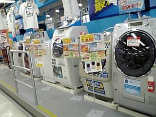 070212 ビックカメラ洗濯機