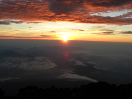 070820 富士登山 ご来光