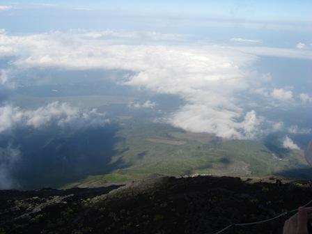 070819 富士登山 上から