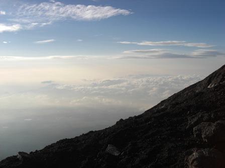 070820 富士登山 ご来光後