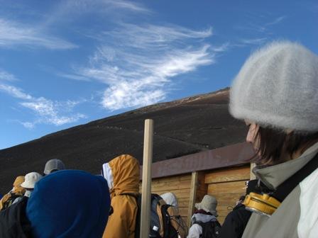 070820 富士登山 山小屋から