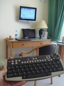 TVとキーボード