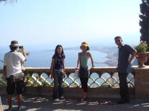 タオルミナ全景