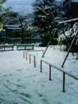 雪景色(公園)