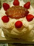 hydeとyasuのバースデーケーキ