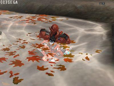 もみじと温泉とサザビさんのマッチング(似合います