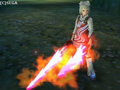 チーさんの新武器( `・ω・´)b