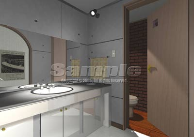 3DCG 化粧室[makeuproom]
