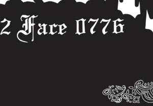 W-CRIME フラッグ flag