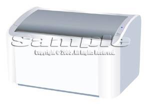 illust レーザープリンター Laser printer