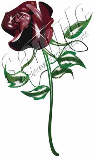 illust バラ Rose