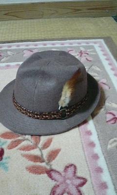 羽根突き帽子
