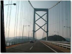 鳴門大橋やでワレ。レインボーブリッジちゃうで