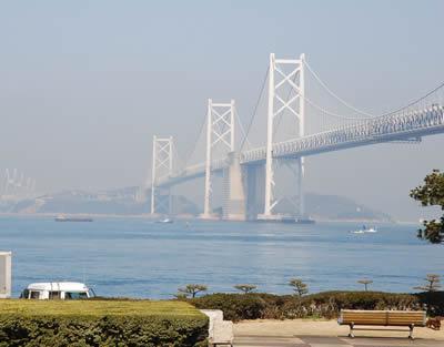 通行料の高い瀬戸大橋