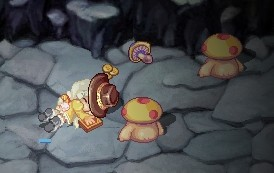 キノコめ・・・っ!!