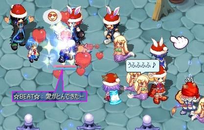 サンタがいっぱい☆