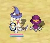 ハロウィン帽子ですの
