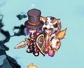 二人の狐さん