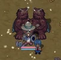 熊に囲まれて
