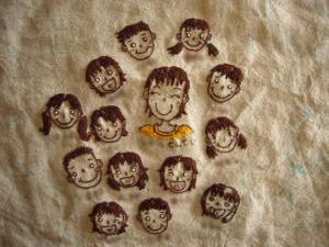 刺繍のつづき