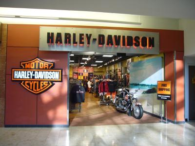 Harley-Davidson at Orlando Airport