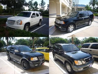 American Full Size 4WD Cars
