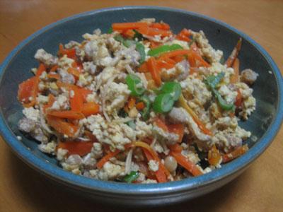 定番になりそうな料理【炒り豆腐】