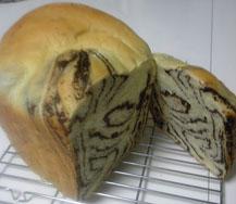 チョコシート折込パン