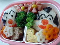 結局幼稚園で食べることに・・