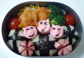 3匹の子豚~♪