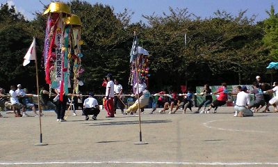 健民運動会_綱引き