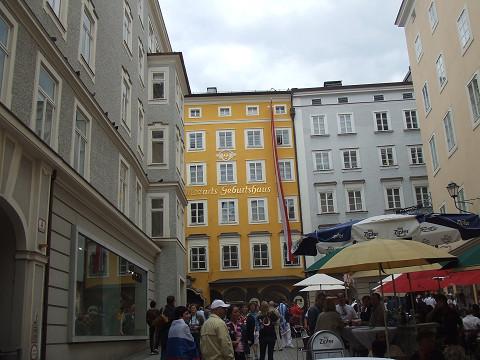 モーツァルト生誕の家