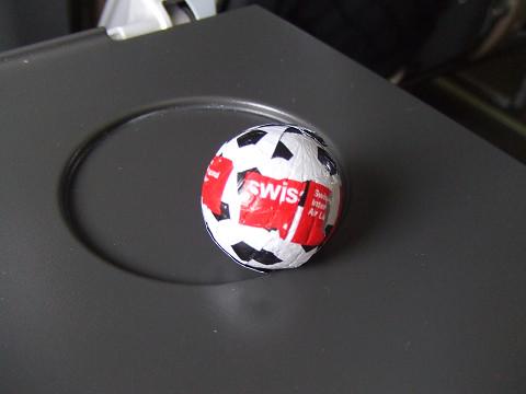 サッカーのチョコレート