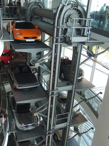 車のエレベーター