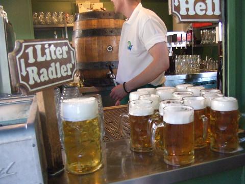 1リットルのビール