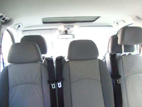 Vクラス車内