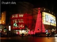 南京西路の夜景
