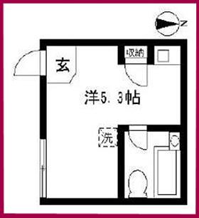 東京下北沢・L字型の賃貸アパート/家賃5.0万円也