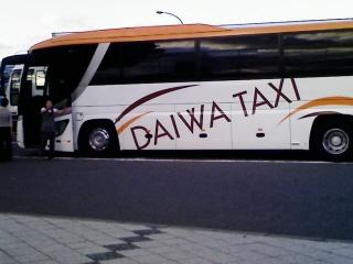 バスorタクシー?