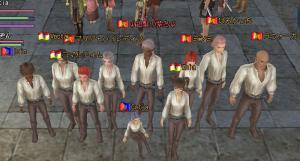 10人の海賊さん。