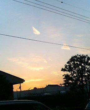 地震雲?②