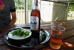 夏はビール