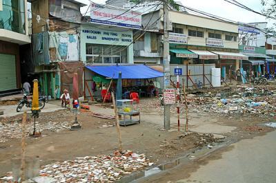 旧サイゴンの郊外