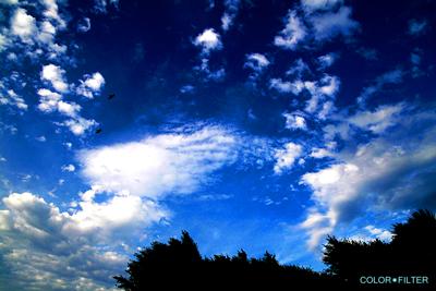 江の島の空